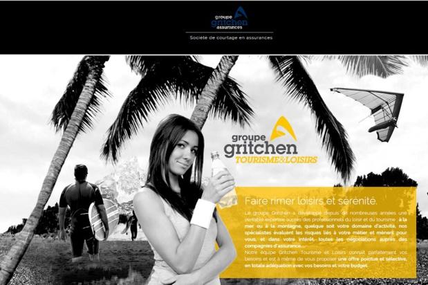 En 2014, Gritchen a enregistré plus d'un million d'assurés tourisme et loisirs - DR : Capture d'écran Gritchen