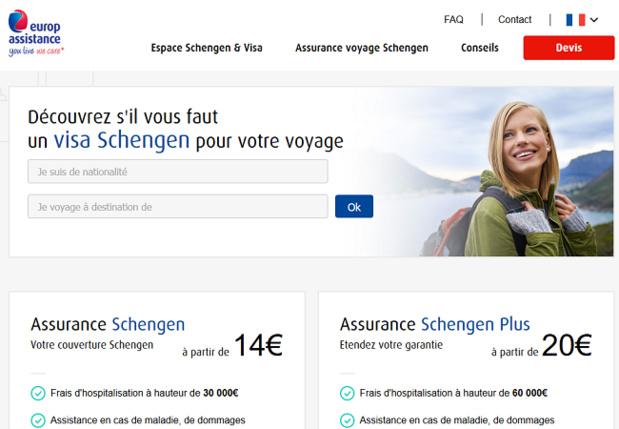 Le nouveau site d'Europ Assitance - DR