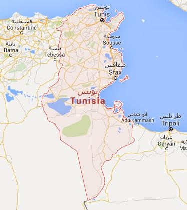 Les fêtes de fin d'année 2015 seront une période sensible pour la sécurité en Tunisie - DR : Google Maps