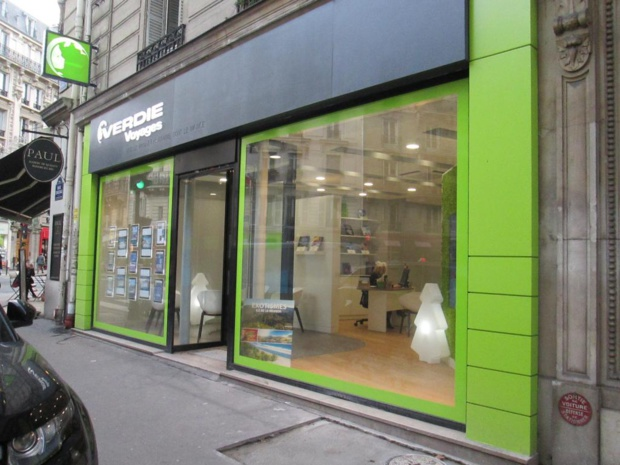 La nouvelle agence Verdié implantée à Paris - Photo MS