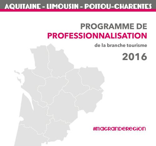 Région Aquitaine, Limousin et Poitou-Charente : le programme formation 2016 est sorti !