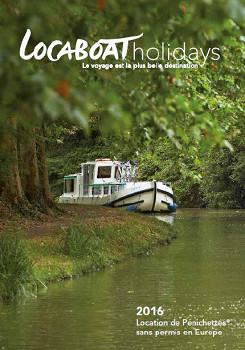 Locaboat sort sa nouvelle brochure pour 2016 - DR : Locaboat