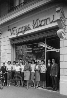 Agence Kuoni Zurich 1956 - 1958