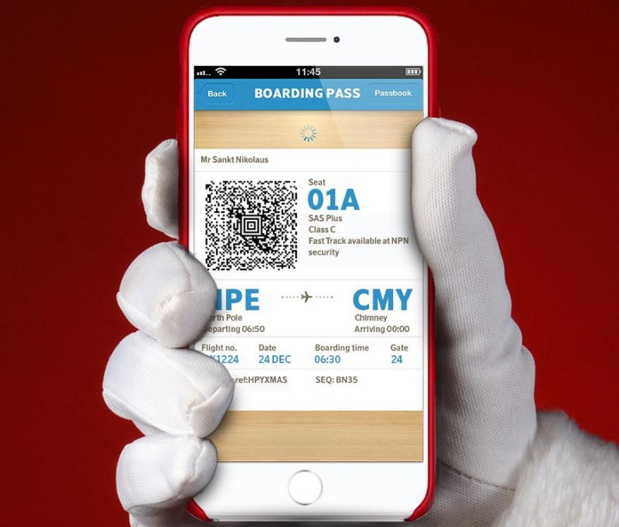 L'application SAS permet déjà aux voyageurs de réserver des vols, de s'enregistrer et de choisir leur siège - DR