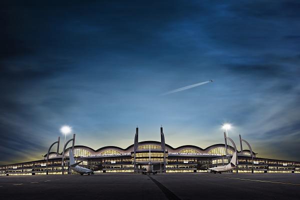 L'aéroport Sabiha Gökcen se trouve sur la rive asiatique du Bosphore à Istanbul - Photo Sabiha Gökcen Airport