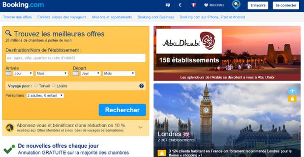 L'Autorité de la concurrence allemande interdit les clauses de parité dans les contrats de Booking.com avec les hôteliers - Capture d'écran
