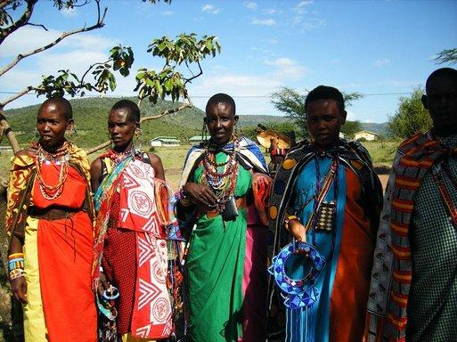 Les femmes masaï