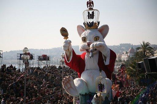 Nice : le Carnaval 2008 a connu une bonne affluence