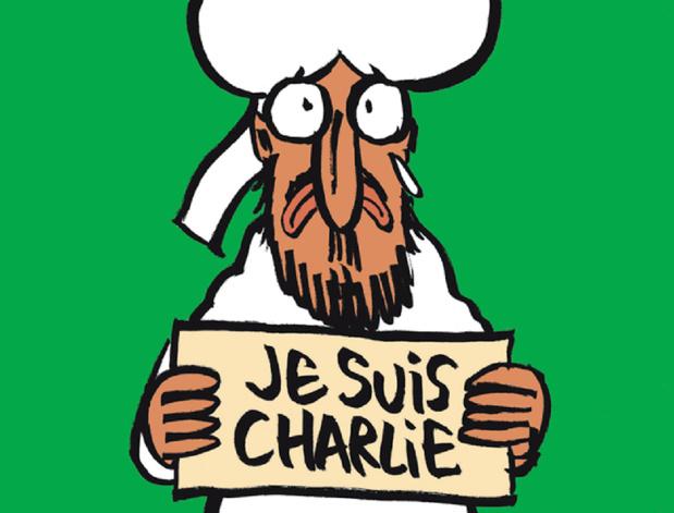 La Une de Charlie Hebdo parue le 14 janvier 2015, une semaine après les attentats à Charlie Hebdo - Photo DR