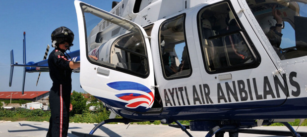 LEs TO pourront bientôt intégrer des services ambulanciers aériens dans leurs forfaits sur Haïti - Capture d'écran