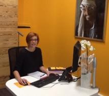 Sandra Philibert, directrice de l'agence Bleu Voyages à Clermont-Ferrand - DR : J-P.C.