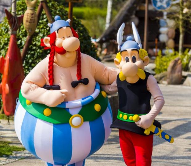 Astérix et Obélix au Parc Astérix - Copyright EAR 2015