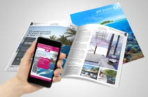 L'application Travel + permet de scanner une page de la brochure, afin d'obtenir davantage d'informations - DR : Jet tours