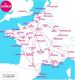 Ouibus a fait voyager 267 000 personnes