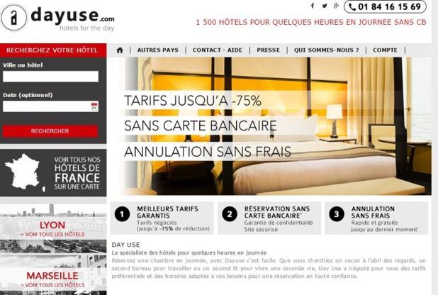 Dayuse permet aux hôteliers de proposer une offre complémentaire- (c) dayuse.com