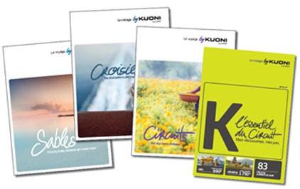 Kuoni distribue ses brochures été 2016