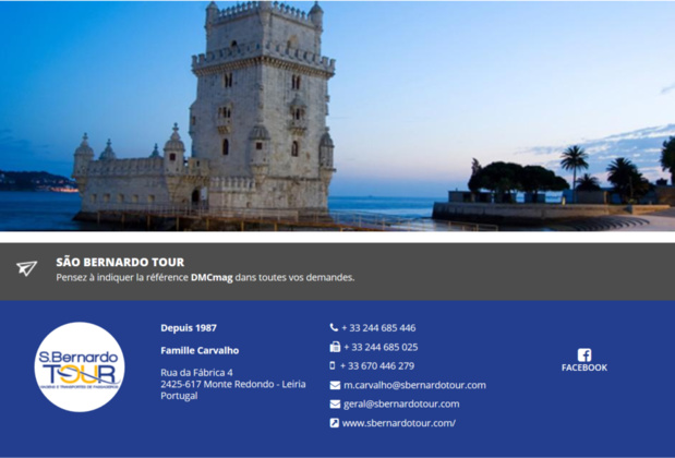 São Bernardo Tour, nouveau réceptif Portugal sur DMCMag.com