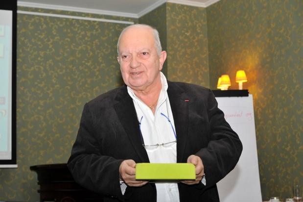 Raoul Nabet, président de l'APST à la convention du SNAV Est - Photo I-tourisme RBT