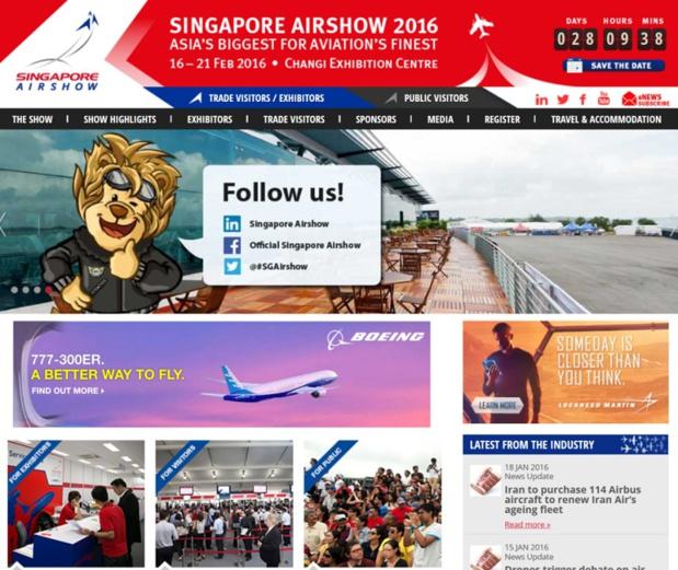 La France à l'honneur du Singapour Airshow