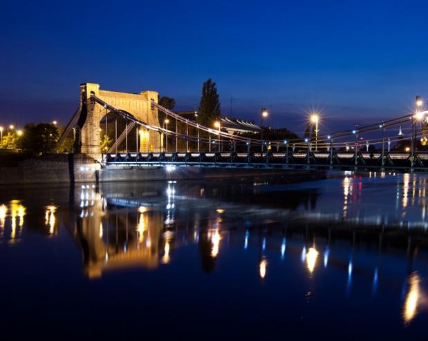 La cité est bâtie sur douze îles de l'Oder, reliées entre elles par 112 ponts. Grunwald Bridge - DR OT Polonais