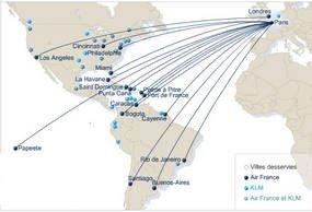 Air France-KLM : l'offre progresse de 4,6% pour l'été 2007