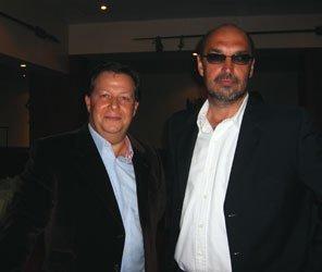 Emmanuel Foiry, président Kuoni France et Bruno Ferret, directeur général et foncateur des Ateliers du Voyage