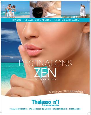 Couverture de la brochure été 2016 de Thalasso N°1 - DR : Thalasso N°1