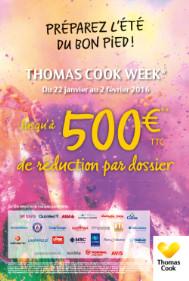 L'affiche de communication pour l'opération de Thomas Cook - DR : Thomas Cook