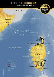 """""""Explore Corsica by le Tour de France"""" : le tour de Corse pour les fans de grande boucle"""
