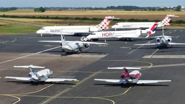 Le nombre de passagers gagne 12 % à l'aéroport de Caen-Carpiquet en 2015 - Photo : Aéroport Caen-Carpiquet
