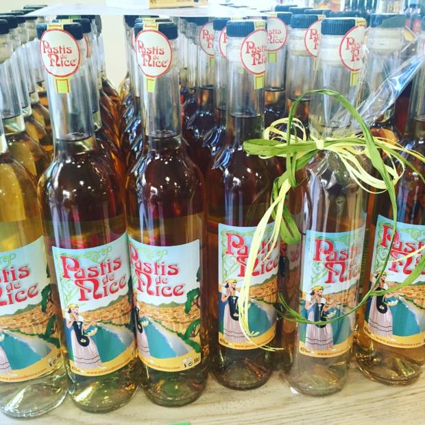 Bottles of Pastis de Nice