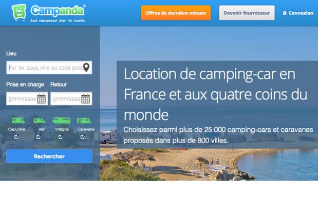 Un site de location de camping-cars aux quatre coins du monde - (c) Capture Campanda