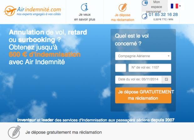 Air-indemnité s'occupe des réclamations des voyageurs auprès des compagnies aériennes - (c) Capture Air-indemnité