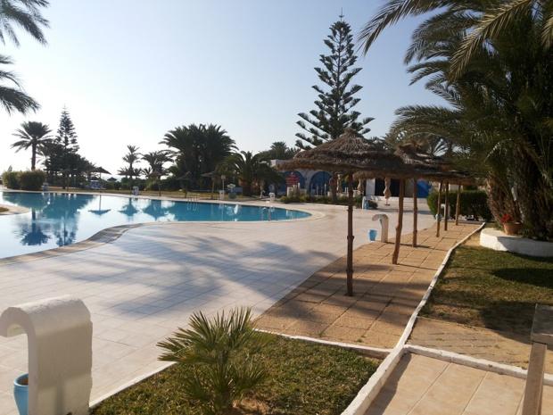 Depuis dimanche 31 janvier 2016, l'hôtel Golf Beach de Djerba est vide - Photo : F.B.F