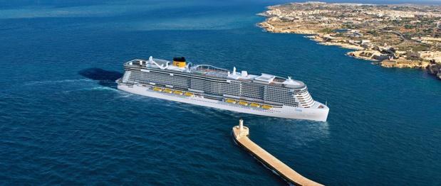 En 2019 et 2020, Costa Croisières recevra deux navires alimentés au GNL - Photo : Costa