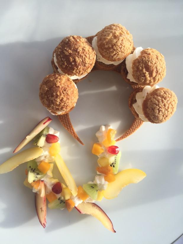 Dessert à la chantilly signé David Archinard