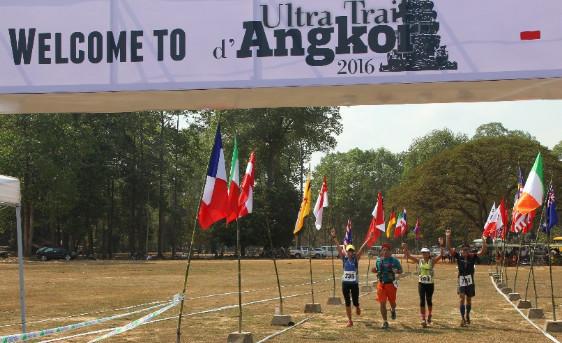 La première édition de l'Ultra Trail d'Angkor a réuni 307 coureurs de 26 nationalités différentes - Photo : Phoenix Voyages