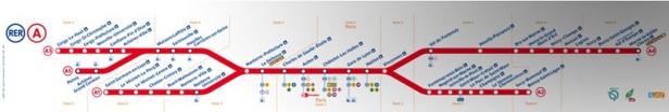 Paris : des perturbations sur les RER A et RER B jeudi 4 février 2016