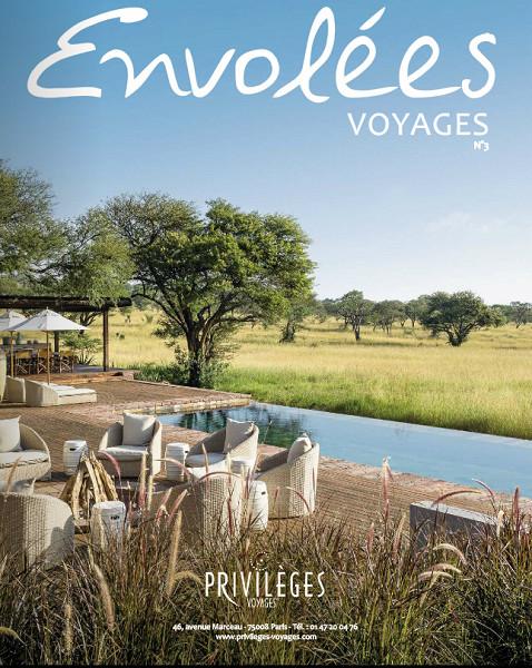 Le magazine Envolées Voyages édité par Privilèges Voyages - DR