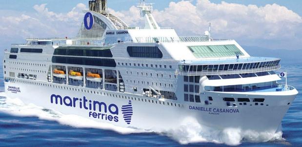 Maritima Ferries enregistre près de 45 000 réservations sur la Corse, soit une hausse de +30% par rapport à l'an dernier - DR : MCM