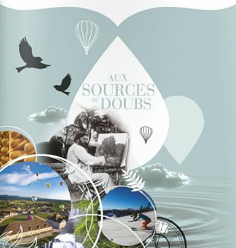 Couverture du dossier de presse 2016 de Doubs Tourisme - DR : Doubs Tourisme