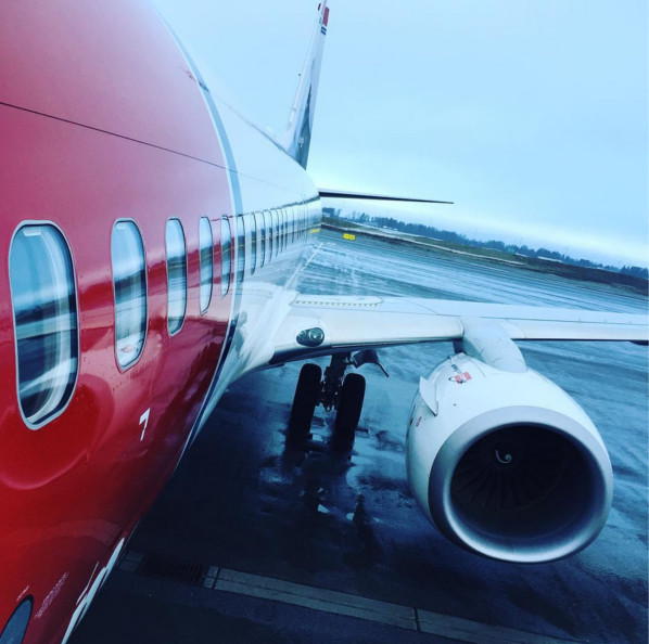 Norwegian repart à l'offensive dans le but de lancer des vols entre Paris CDG et Los Angeles pour cet été Photo - Norwegian Air Shuttle Istagram