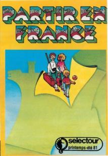 En 1981, Selectour lance ses premières brochures thématiques, dont « Partir en France » - DR : Selectour