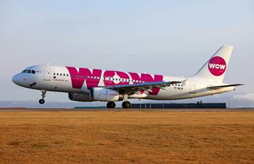 WOW Air développe son offre de vols entre l'Islande et le Canada - Photo : WOW Air