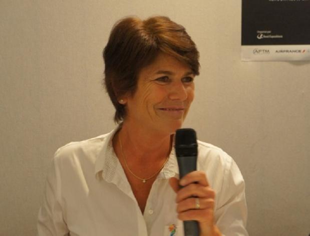 Dominique Beljanski, présidente de Selectour Afat a perdu son pari... - Photo JDL