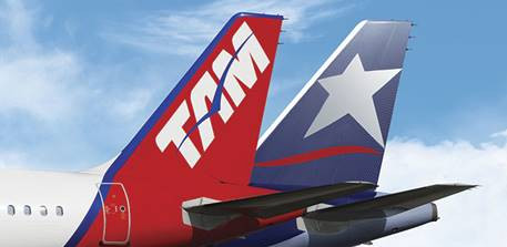 La plupart des compagnies aériennes du groupe LATAM Airlines sont en croissance en janvier 2016 - Photo : LATAM Airlines Group
