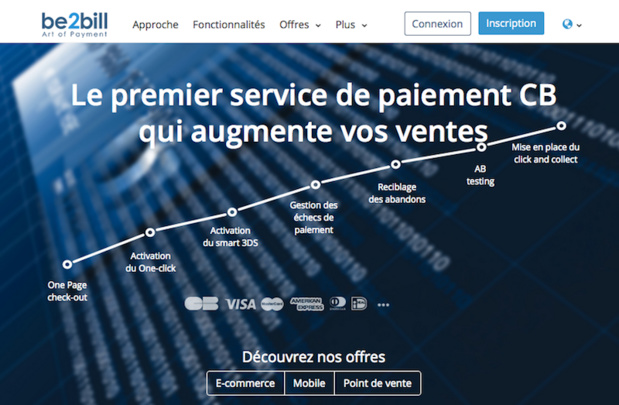 Une solution de paiement orientée conversion - (c) Capture Be2bill