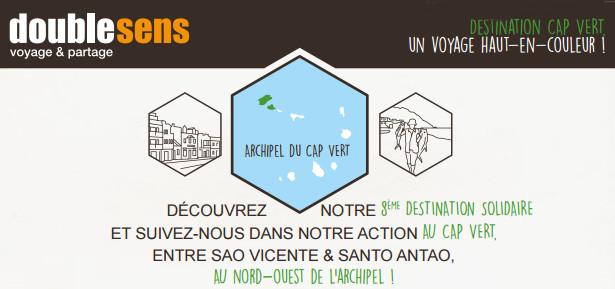 Double Sens est désormais présent sur une 8e destination : le Cap-Vert - DR : Double Sens