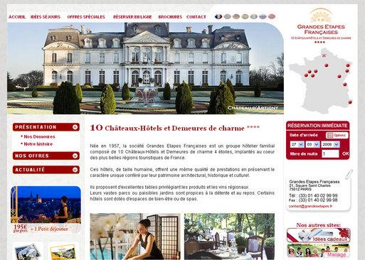 Le nouveau site Internet de Grandes Etapes Françaises