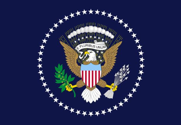 Drapeau du président des USA par Zscout370